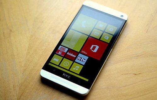 HTC'nin Windows Phone'lu telefonu ilk kez görüntülendi