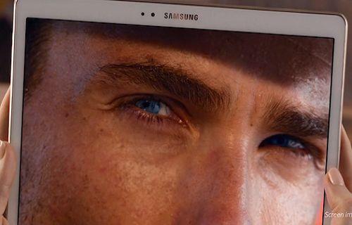 Galaxy Tab S'in Super AMOLED ekranı bir kez daha ön planda