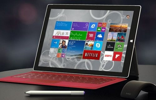Microsoft Surface Pro 3'te öğrenci indirimi
