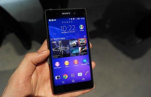 Sony, Xperia Z2 için yeni bir güncelleme hazırlıyor