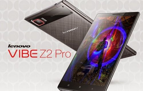İşte Lenovo'nun göz dolduran üst düzey akıllı telefonu: Vibe Z2 Pro
