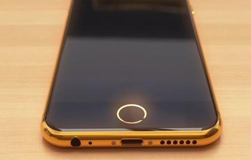 Lüks, altın kaplamalı Apple iPhone 6'yı gördünüz mü?