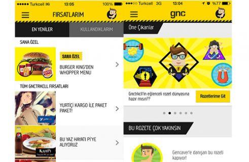 """Turkcell'in """"gnctrkcll dünyası"""" yeni mobil uygulama ile şimdi cebinde!"""