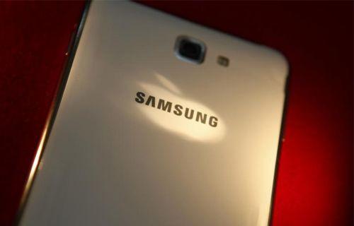 Galaxy Note 4'ün bu defa ön paneli ortaya çıktı