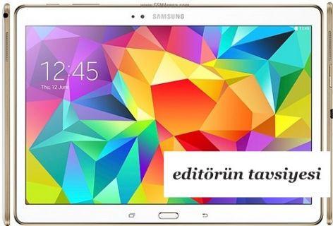 Samsung Galaxy Tab S Benchmark Testleri