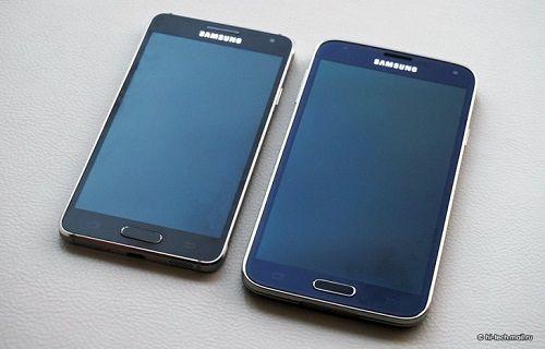 Galaxy Alpha-Galaxy S5 özellik karşılaştırması