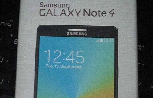 Samsung Galaxy Note 4 teknik özellikleriyle mağazada listelendi
