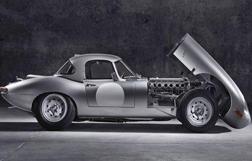 Jaguar'ın 1963 model Special GT E-Type'i yeniden yolların tozunu alacak! [Video]