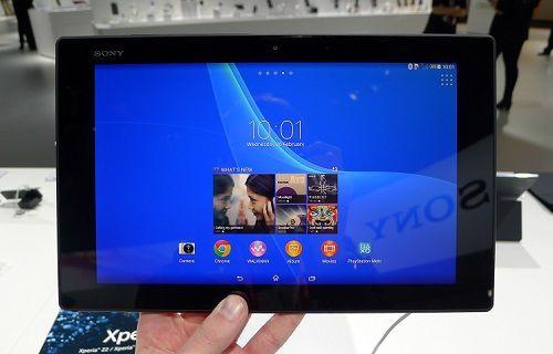 Xperia Z3 Tablet Compact, kullanım kılavuzunda ortaya çıktı
