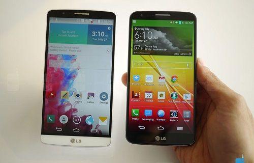 LG G2 ve LG G3 Ekran Karşılaştırma Testi