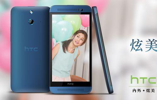 HTC One E8'in mavi rengi satışa sunuldu