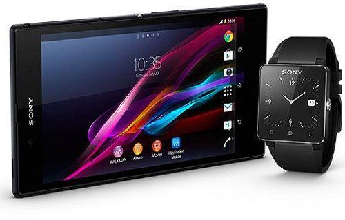 Sony'nin yeni tableti ve akıllı saati ilk defa görüntülendi