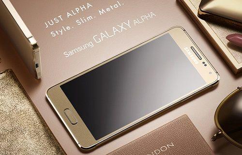 Galaxy Alpha ve Samsung'un metal telefonları