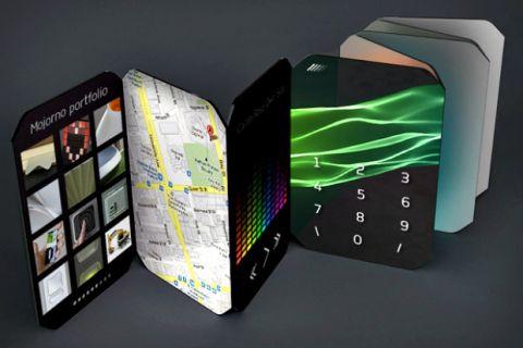 Gelecekten gelen 10 ilginç konsept akıllı telefon