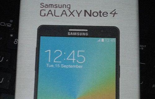 Galaxy Note 4'ün tasarımı şekilleniyor