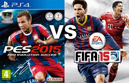 Bu sene Fifa 15 mi yoksa PES 2015 mi oynayacağız?