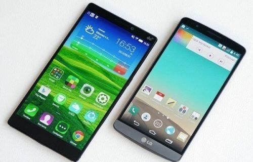 Quad HD ekran karşılaştırması: LG G3 - Lenovo Vibe Z2 Pro