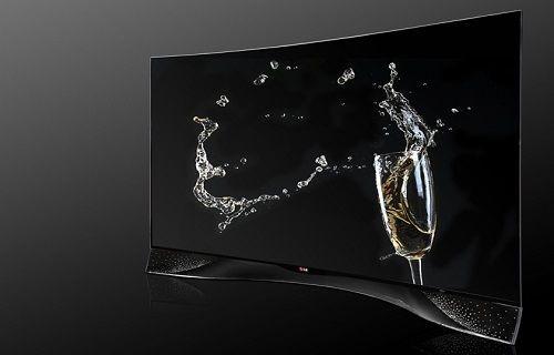 LG'den Swarovski kristal taşlarla süslenmiş kavisli OLED TV