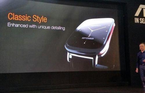 IFA 2014: Asus ZenWatch akıllı saat duyuruldu [video]