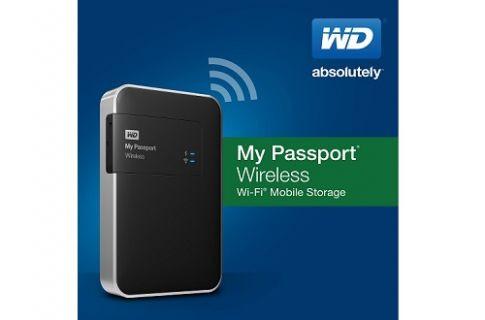WD Portatif Depolama Sürücüsü ile kablosuz veri aktarımı mümkün oluyor
