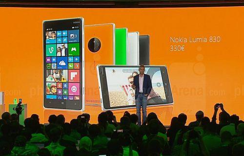 IFA 2014: Microsoft Lumia 830 duyuruldu