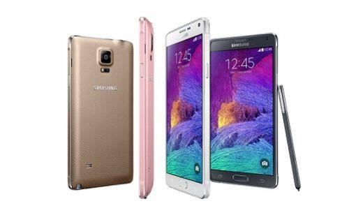 Samsung Galaxy Note 4 ve Galaxy Note Edge'i Tanıttı