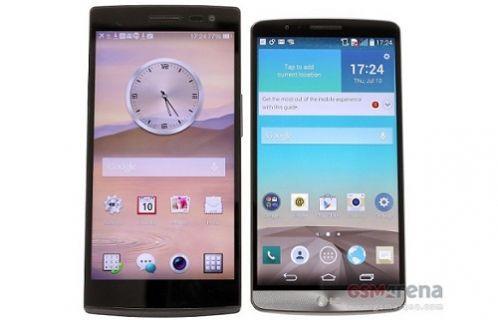 Türkiye'de bir ilk daha; 2K ekranlar kapışıyor Oppo Find 7 ve LG G3 ekran karşılaştırma testi