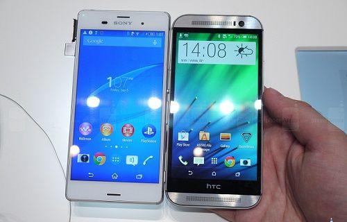 Xperia Z3 ve One M8 yan yana: Genel özelliklere ilk bakış