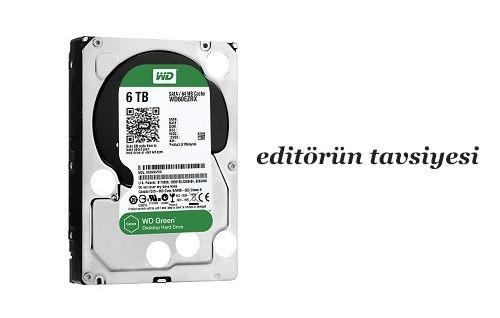 Türkiye'de bir ilk: WD Green WD60EZRX 6TB HDD incelemesi