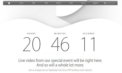 Apple'da geri sayım başladı