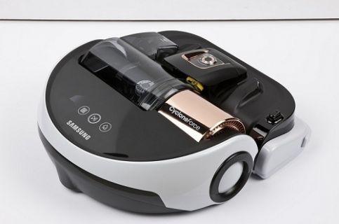 Samsung Powerbot VR9000 siz evde yokken temizlik yapmaya devam etsin