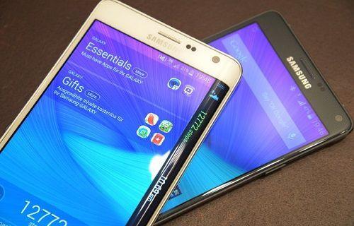 Samsung'un 2014 yılı Galaxy Note 4 ve Note Edge satış hedefi açıklandı