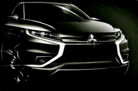 Mitsubishi Motors Outlander PHEV Konsept S ile Paris Motor Show 2014'de