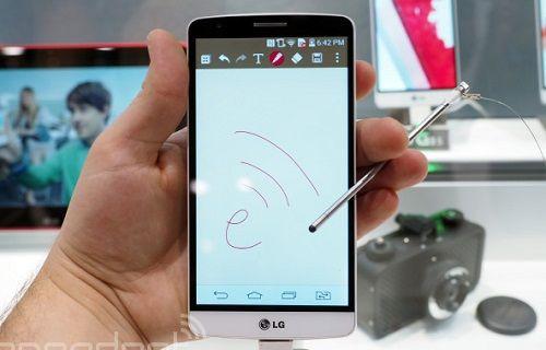LG G3 Stylus satışa sunuluyor