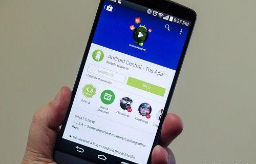 Materyal Tasarımlı Google Play'in görüntüleri yayınlandı