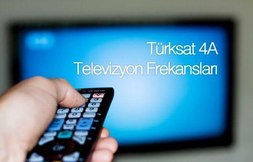 Türksat 4A otomatik ve manuel kanal arama nasıl yapılır? Güncel Kanal ve Frekans listesi