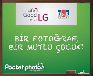 LG Electronics Türkiye Bir Fotoğraf Bir Mutlu Çocuk projesi kapsamında öğrencileri sevindirdi!
