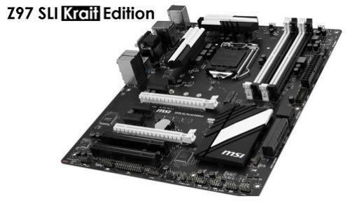 MSI Z97S SLI Krait Edition ile Overclock'un sınırlarını zorlayın