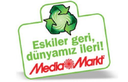Media Markt evlerden 21 ton e-atık topladı!