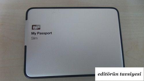 Türkiye'de bir ilk daha; WD My Passport Slim 2 TB inceleme