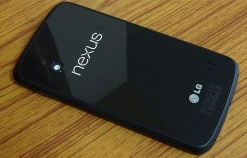 Nexus 4 kullanıcıları için sevindirici haber!