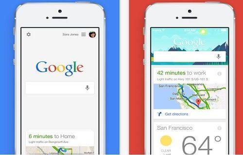Google, iOS için güncellendi