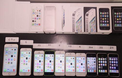 Tüm iPhone'lar hız testinde