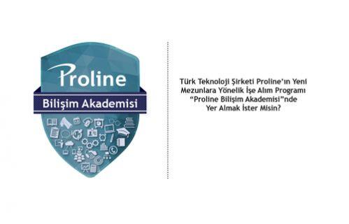 Proline Bilişim Akademisi ilk mezunlarını verdi!