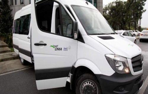 Yerli elektrikli minibüs test edildi