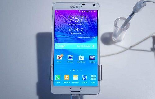 Galaxy Note 4, ekim ayında dünya genelinde raflarda olacak