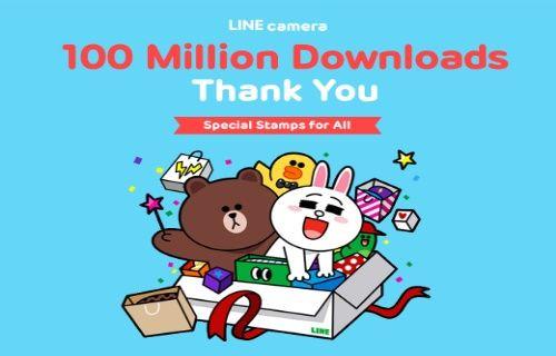 Line'ın kamera uygulaması 100 milyon barajını aştı!