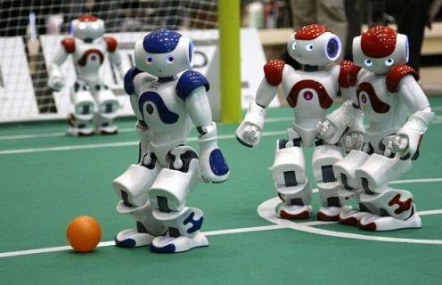 Robotların futbol maçını gördünüz mü?