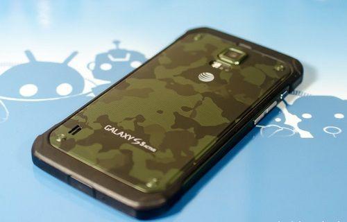 Galaxy S5 Active Avrupa yolunda