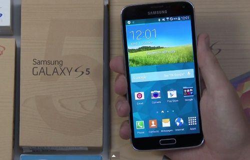 Android L yüklü Galaxy S5'in görüntüleri yayınlandı [video]